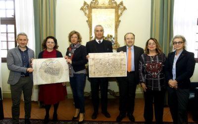 Imola ricorda Leonardo autore della sua Mappa
